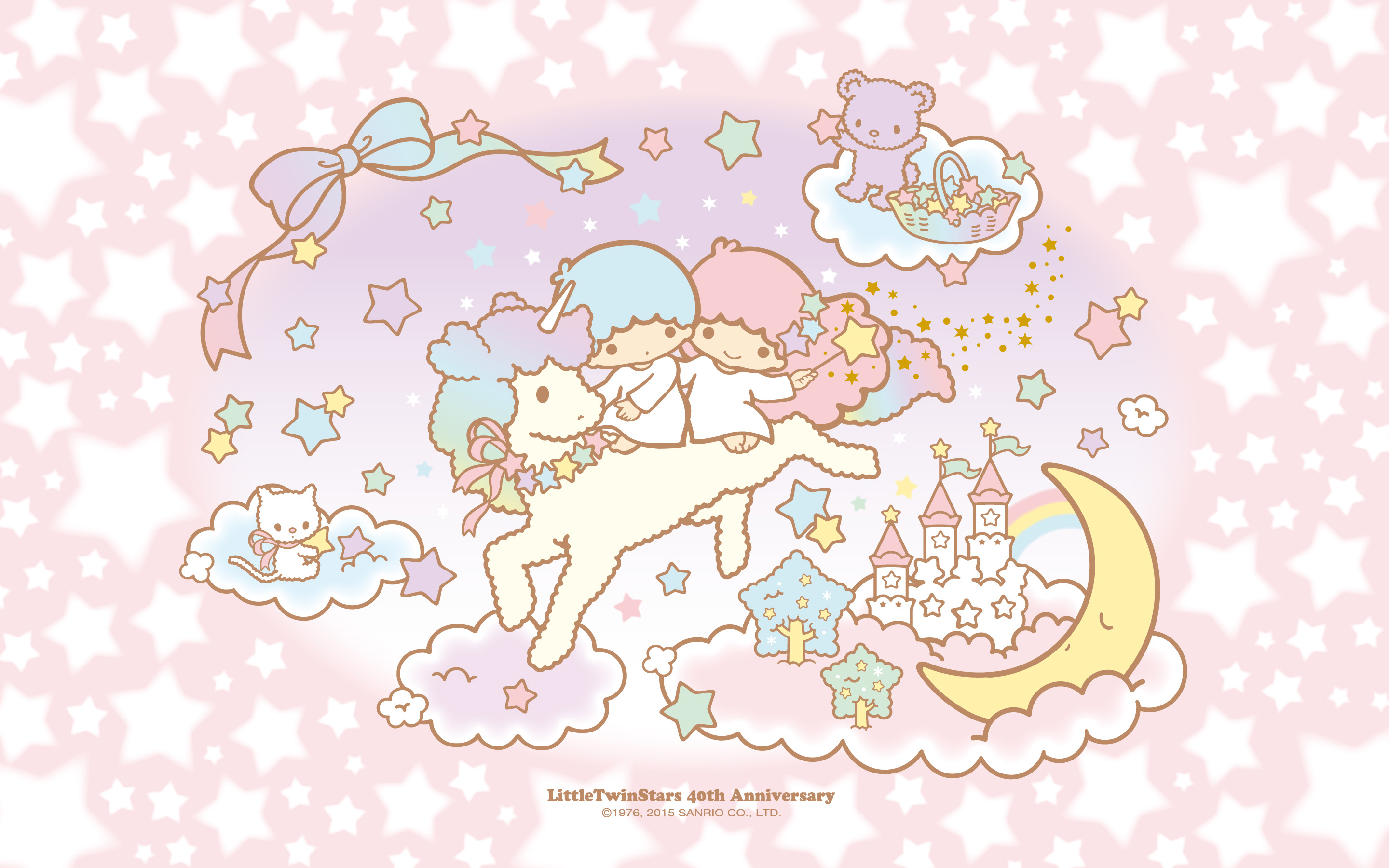 little twin stars wallpaper iphone 4