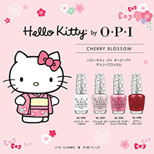 アジア限定ネイル「Hello Kitty by O・P・I CHERRY BLOSSOM」発売!