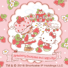 Strawberry Shortcake and Hello Kitty