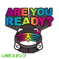 【LINEスタンプ】DJ Hello Kitty ※有料