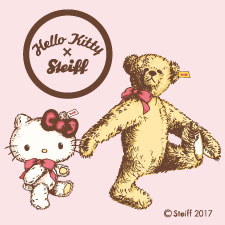 Hello Kitty×Steiff