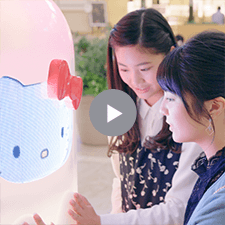 【HELLO KITTY ACTION】MEET BOTTLEティザームービー